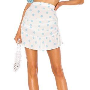 For Love & Lemons Caroline skirt small